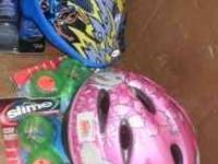 YOUTH BIKE HELMETS 5.00 each call or text  Location: s