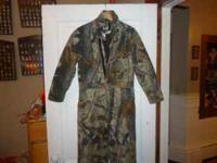 I HAVE 2 PAIR OF YOUTH INSULATED CAMO COVERALLS. ONE IS