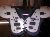 football pads 4 youth. my son used these when he was
