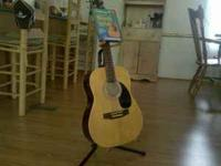 YOUTH GUITAR AND STAND WITH LEARNING DVD  50.00 FIRM