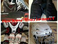 Have youth hockey devices available for sale. Consists