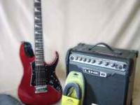 What's Included: IBANEZ GUITAR & CASE AMP: Line 6, 15