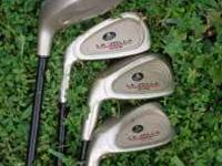 Left-handed youth golf starter set. La Jolla brand with