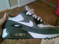 Youth Nike Air Max size 6. Selling for $75. Obo. Brand