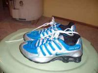 I have a very nice pair of youth Nike shox size 5.5.