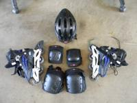 DBX roller blades in excellent condition complete with