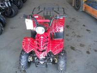 Young people kid size ATV 110 cc with remote beginning
