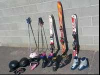Desire an early beginning on skis and equipment