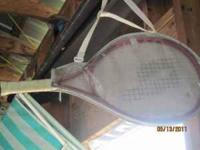great condition youth tennis racket $10 email call or