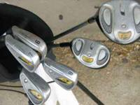 Left Handed Youth Golf Clubs Walter Hagen Jr. Series