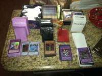 up for sale is my yugioh collection, i have lots of