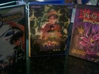 All 3 Movies Here in Mint Condition have Yu-Gi-Oh