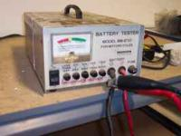 This battery tester has been used in our shop. Its an