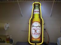 YUENGLING LAGER BOTTLE NEON SIGN  THE SIGN IS  101/2""