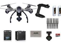 The Yuneec Q500 4K Typhoon Quadcopter comes with the