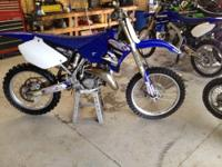 2006 yz 125 this bike is all new aluminum frame chassis