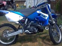 For Sale: 2001 YZ 2510 Dirt bike. Great condition. This
