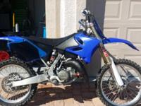 2005 aluminum frame Yamaha YZ125 With upgraded Enzo