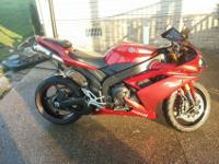 1 have a 2008 Yamaha YZF-R1 for sale in great condtion