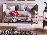 Z Gallerie Zebra Rug In pet free and smoke free home.