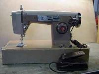 Older Z brand sewing machine works great, Straight and