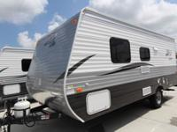 Z1 18RB BY CROSSROADS POWER AWNING W/ LED LIGHTS,