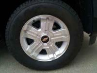 07-11 z71 wheels and bridgestone dueller tires with