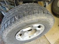 i have a full set of z71 wheels and tires with wheel