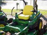 John Deere ztrak, new, limited early season special