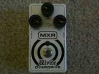 Zakk Wylde Overdrive pedal. It's in great shape. Comes