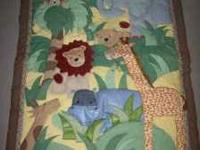 Crib Set from Babies R Us. Zanabar Collection. Includes
