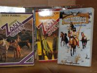 I have many western books from many different authors..