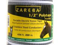 The Zareba 1/2 in. Poly Tape 200 Meter is ideal for