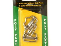 The Zareba 1 in. Poly Tape Splicer Buckle splices