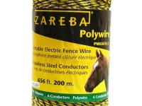 This poly wire is lightweight and so easy to install,