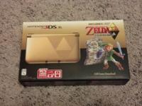 I have a Zelda 3DS XL bundle that is brand new and
