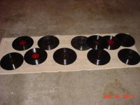 Zenith FM Stereo Player W/Records 15-45-RPM Records