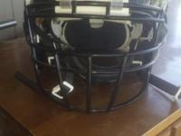 Zenith football helmet, size large, black, used only