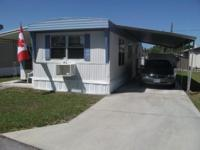 Mobile Home (44x12)...55+ Community...1 Bed...1