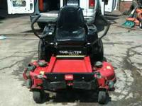 TORO Z5000 time cutter. 50inch cut with bagger. Great