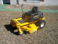 Zero Turn Cub Cadet, 50 inch deck. 22hp Briggs and