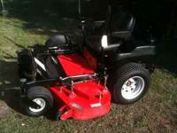 FOR SALE GRAVELY 152Z ZERO TURN ANNIVERSARY