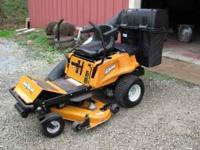UP FOR SALE IS A WOODS 2048 ZERO TURN MOWER. I HAVE