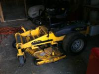 I have for sale a used 2005 zero turn mower of the