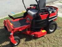 Gravely Zero Turn Mower ZTx-42 Kohler 7000 series 725cc