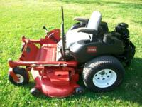 commercial zero turn mower in good condition. runs and