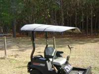 THIS IS A HARD TOP CANOPY FOR YOUR ZERO TURN MOWER.