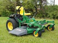 John Deere 717 zero turn mower, v-twin engine , 48 inch