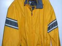 I have a yellow, men's size XL superwarm jacket from