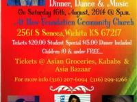 "Come Enjoy as Zia Entertainment provides ""Desi"" (South"
